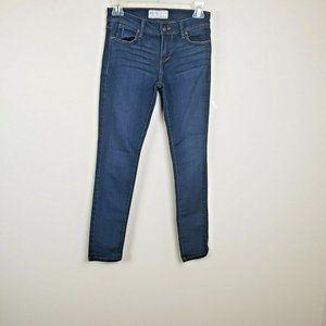 Free People Skinny Leg jeans Jegging Mid-Rise 26
